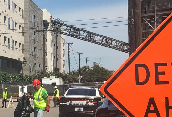 Deadly Dallas Construction Crane Collapse Highlights CRE Liability Issues
