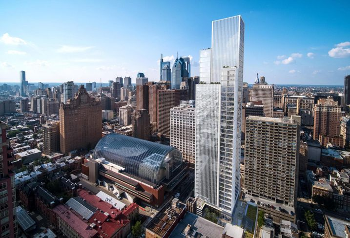 Carl Dranoff Breaks Ground, Reveals Design For 47-Story Condo Tower On South Broad
