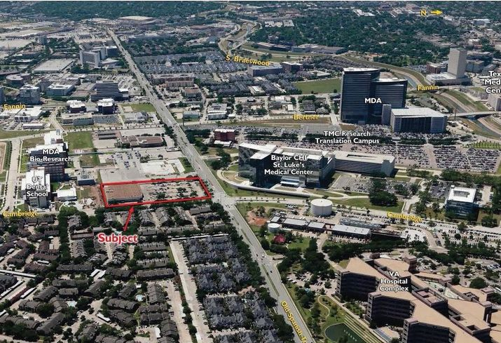 Former Houston Rockets Player Sells Med Center Site For Mixed-Use Development