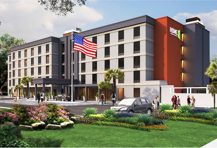 Homes2Suites hotel at 13650 Harbor Blvd. in Garden Grove