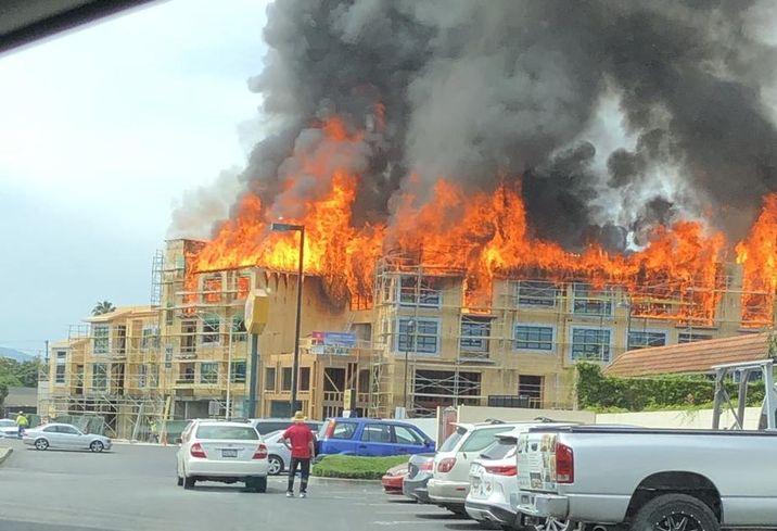 Santa Clara Condo Fire