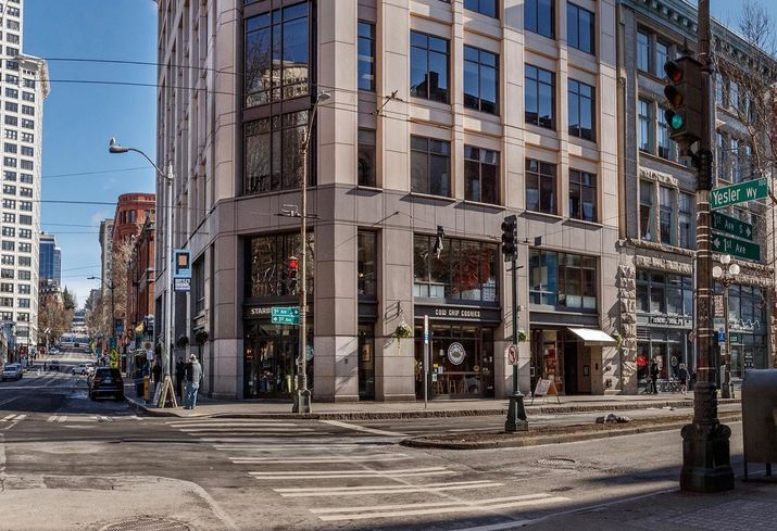 EverWest Buys Olympic Block Building In Pioneer Square