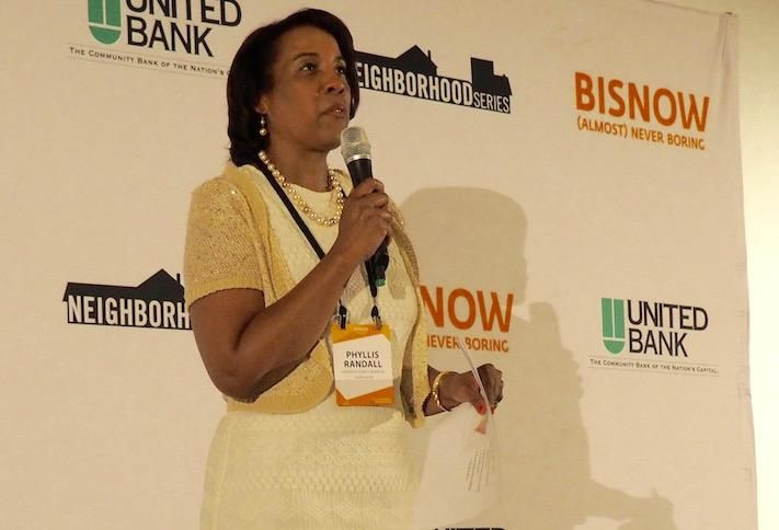 Loudoun County Board of Supervisors Chair Phyllis Randall at Bisnow's 2019 Loudoun County State of the Market