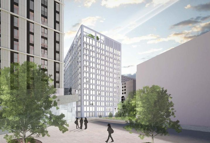 No 2 Circle Square, Manchester Bruntwood scitech