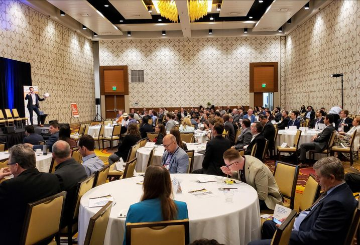 More than 400 people attended BMAC West 2019 at the JW Marriott in downtown Los Angeles.