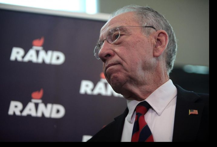 Sen. Chuck Grassley, an Iowa Republican