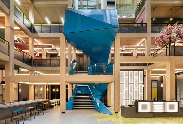 How To Take A 'Soulless' Building In A Fringe Location And Create A Thriving 1M SF Office Hub Of The Future