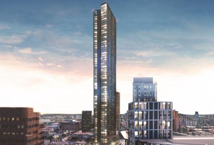 Skyscraper birmingham residential tower