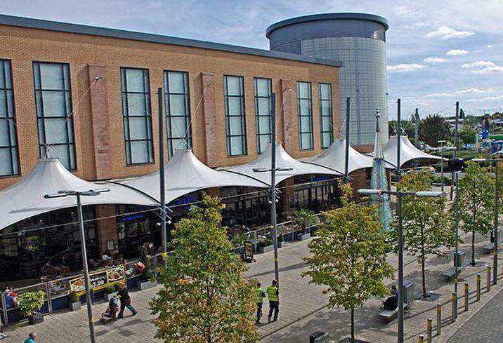 Merry Hill shopping centre dudley midlands birmingham