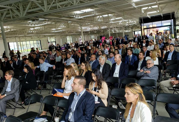 More than 250 people attended Bisnow's Future of Los Angeles Office at Tishman Speyer's 555 Aviation building in El Segundo