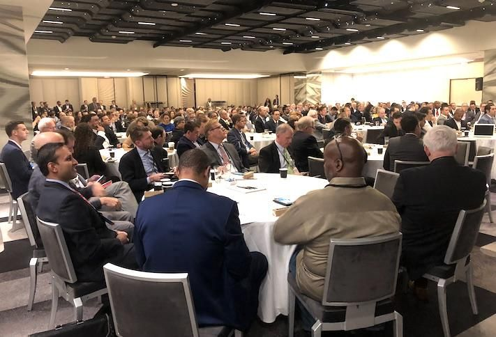 The crowd at a Bisnow opportunity zone event in D.C.