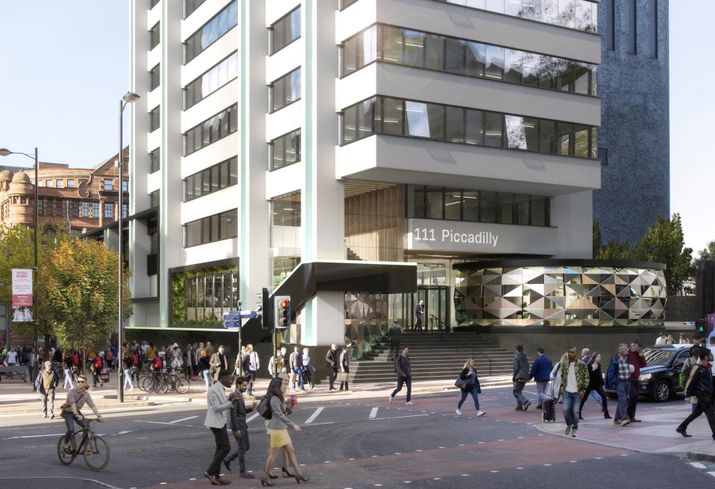 Manchester office bruntwood piccadilly 2019