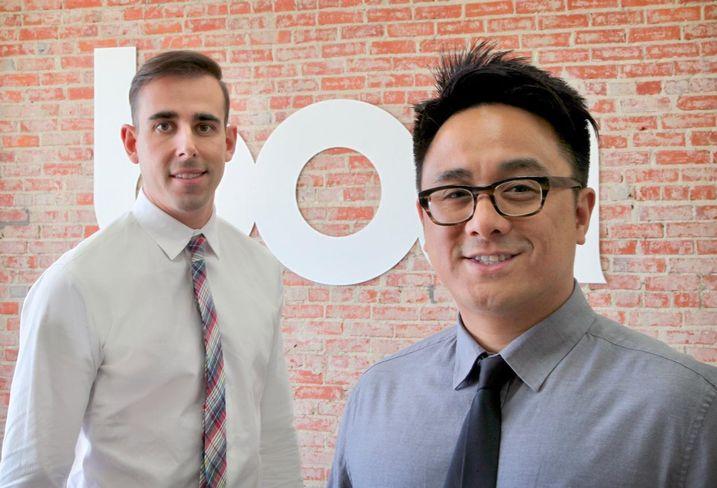 Boa Logistics Founders Walter Lopes and Matthew Mugar