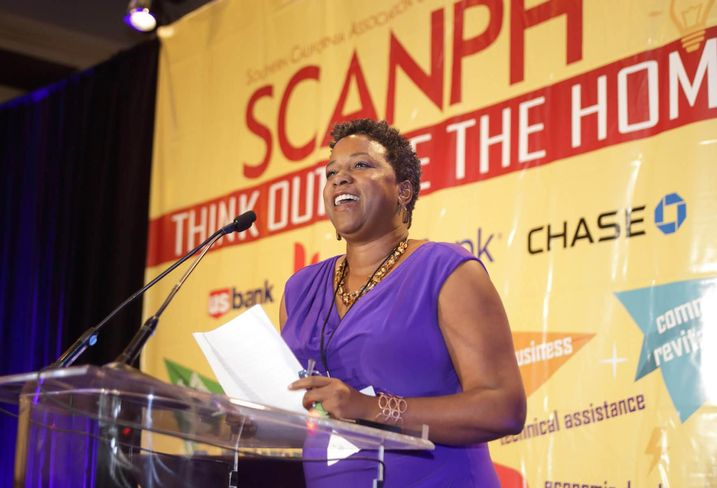 Innovative Housing Opportunities president and CEO Rochelle Mills