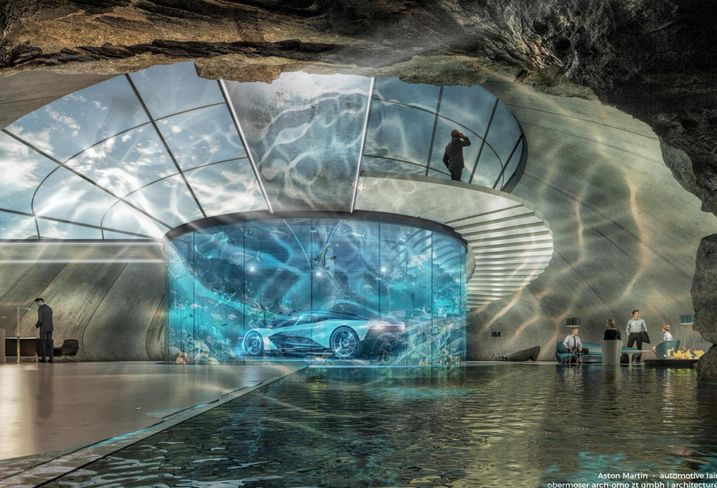 Underground James Bond-Style 'Lairs' Are Aston Martin's Latest Showroom Idea