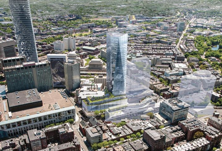 Parcel 12 Mass. Pike Air Rights Project Approved, 1000 Boylston Air Rights Project Nixed