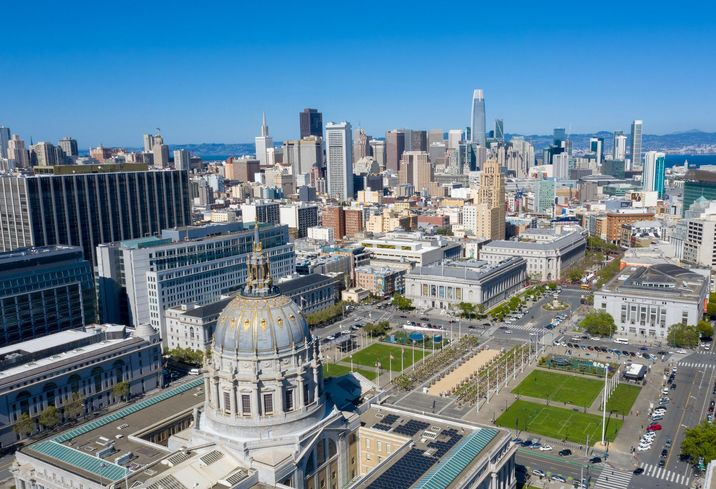 San Francisco Aerial Photo