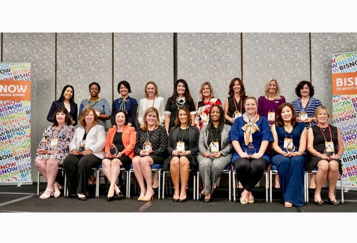 The awardees of Bisnow's Orange County Power Women 2019 at the Irvine Marriott in Irvine