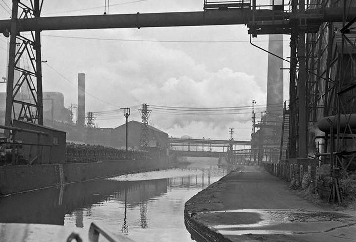 Stoke on trent steel works