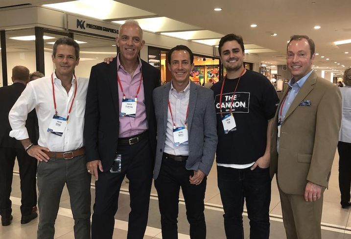 Boxer Property President Justin Segal, Gensler Co-Managing Director and Principal Hunter Clayton, CommonGrounds CEO Jacob Bates, The Cannon Founder and CEO Lawson Gow and E.E. Reed Construction Vice President Scott Crain