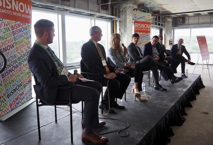 Walsh, Colucci's Bob Brant, Cooper Carry's Stephen Smith, Asana Partners' Katie Grissom, Carr Cos.' Austin Flajser, Howard Hughes' Mark Bulmash, Avanath Capital Management's Benjamin Finley and EYA's Evan Goldman