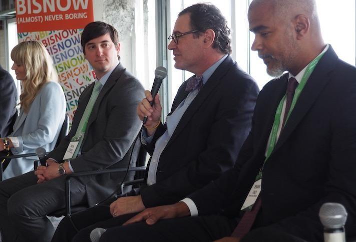 Asana Partners' Katie Grissom, Carr Cos.' Austin Flajser, Howard Hughes' Mark Bulmash and Avanath Capital Management's Benjamin Finley