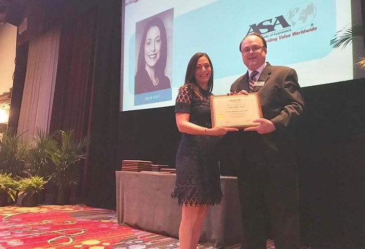 Jamie Allen award ASA Conference