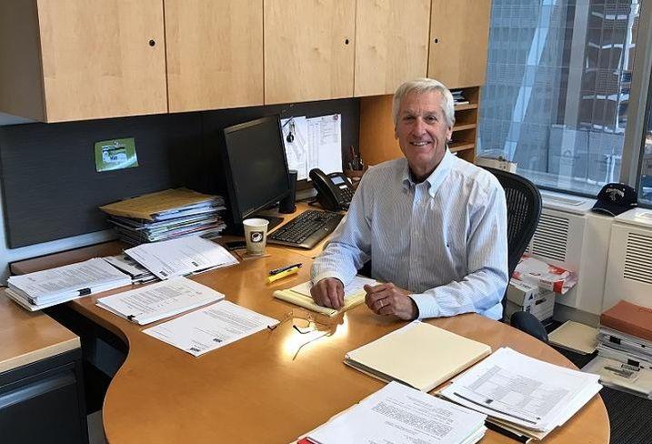 John Wilson at desk HSA