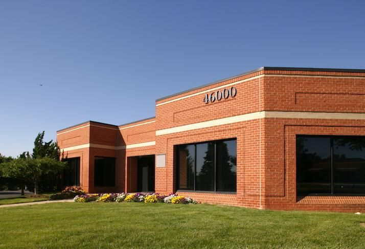 The office building at 46000 Manekin Plaza in Loudoun County