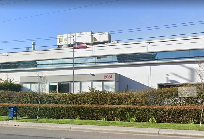 Industrial creative office building at 2031 East Mariposa Ave. in El Segundo
