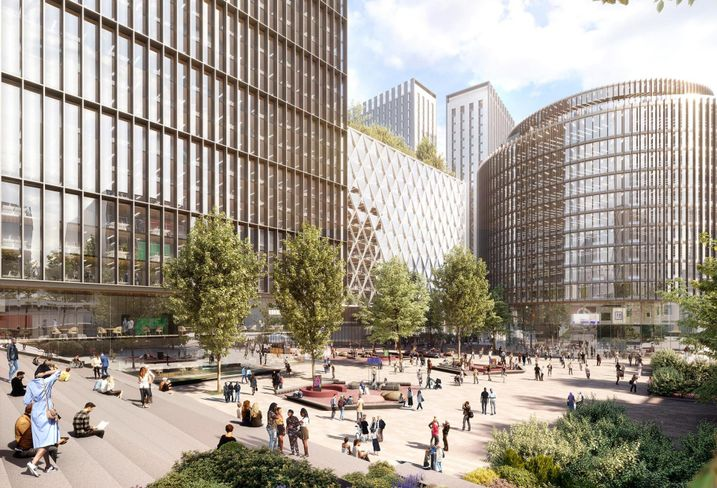 Manchester Office/Resi Scheme Grows By 500K SF, And Nobody Notices