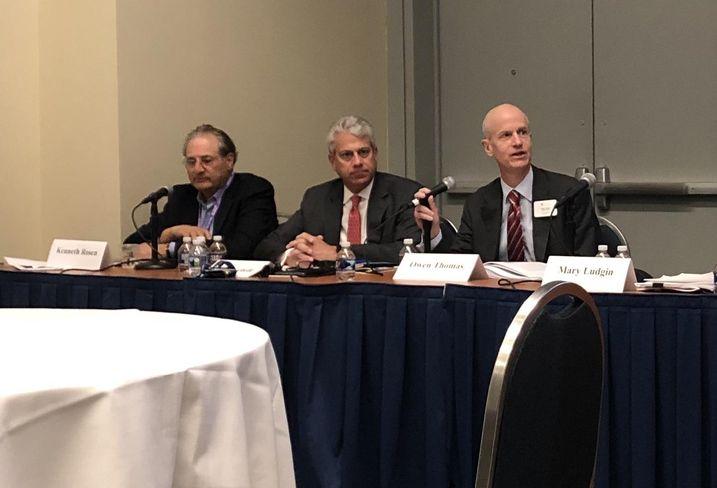 Rosen Consulting Group's Ken Rosen, PwC's Mitch Roschelle and Boston Properties' Owen Thomas