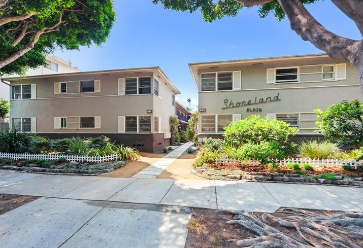 Shoreland Plaza Apartments at 814 to 818 Second St. in Santa Monica