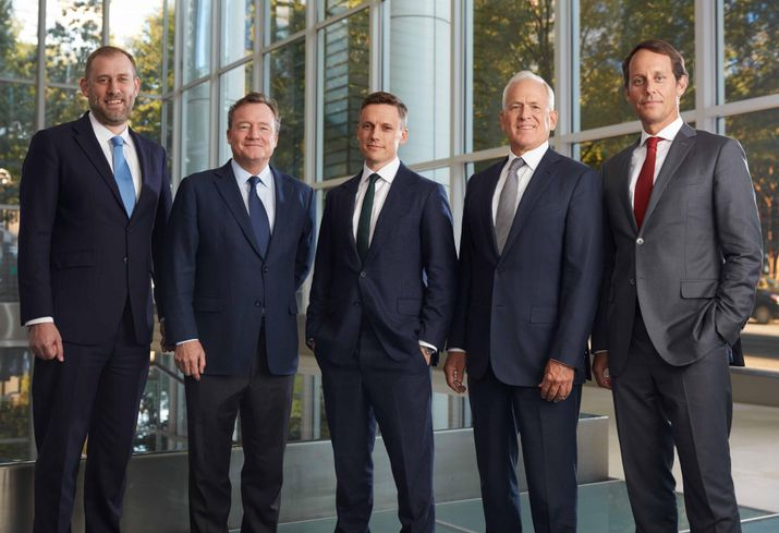 Global Chief Investment Officer David Steinbach,  CEO of Capital Markets Christopher Hughes, Europe CIO Alex Knapp, Asia CIO Lee Timmons, Americas CIO Alfonso Munk
