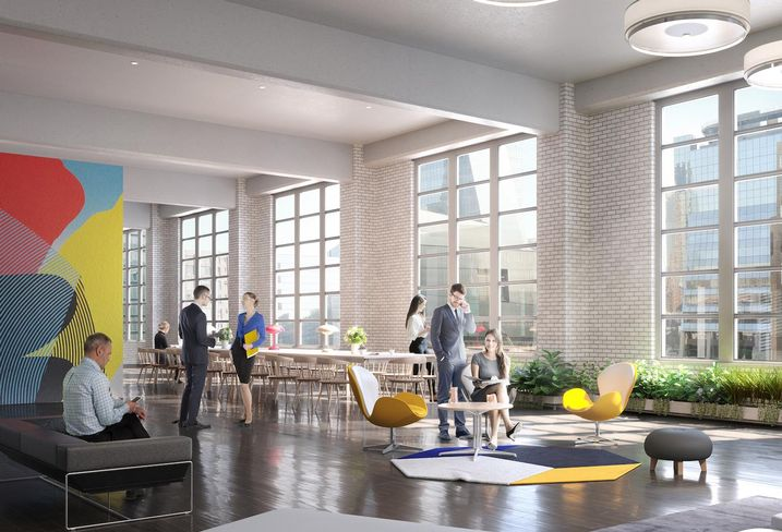 Tishman Speyer To Build A Tech Office Magnet In West Chelsea Postal Facility