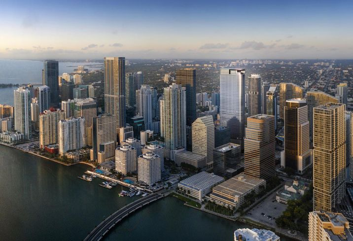 After A Decade Of Waiting, Miami Finally Gets Modern Luxury Office Space