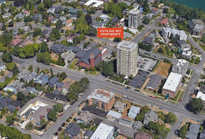 Vista Del Rey Apartment Building In Tacoma Sells For $25.7M