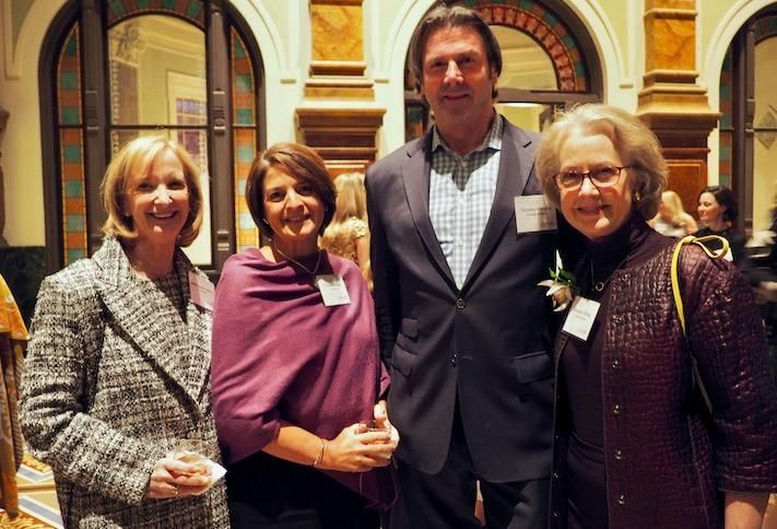Brookfield's Deborah Ratner Salzberg and Christina Alire and Goulston & Storrs Timothy Watkins and Wendy White