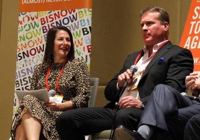 Amy Fingerhut First Vice President CBRE  John Frasier Partner Cartel Properties