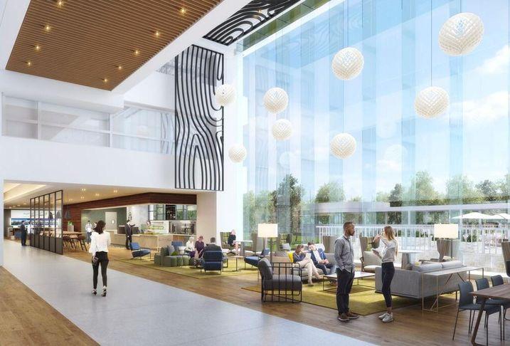 BP Westlake 1 First Floor Lobby Renovations