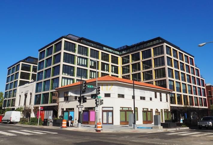 The Liz mixed-use project at 14th and R streets NW