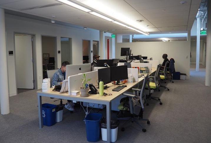Whitman Walker's office space inside the Liz development