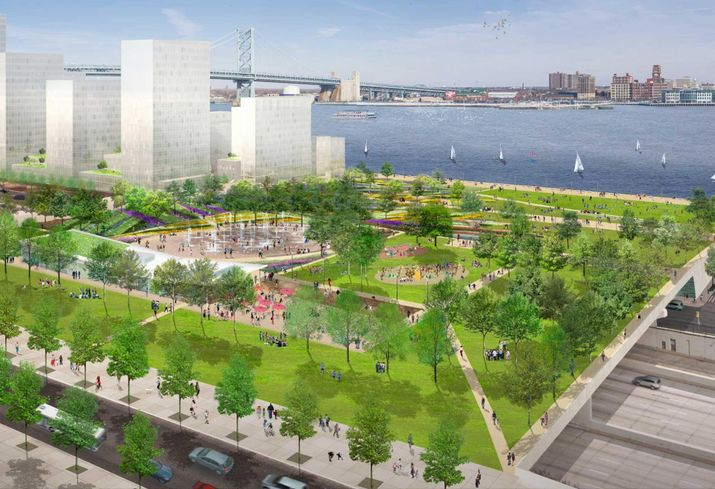 Delaware River Waterfront Corp. Seeks Developers For Parcels Surrounding Penn's Landing
