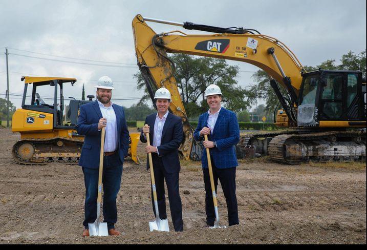 GID Team: Vice President Construction Brady Grace, President of GID Development Group James Linsley and Vice President Development Ian Ward