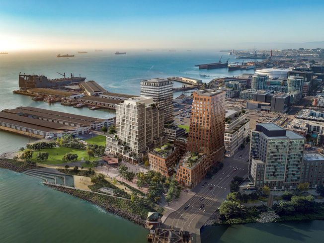 Visa Will Move Global HQ To The San Francisco Giants' Mission Rock Development