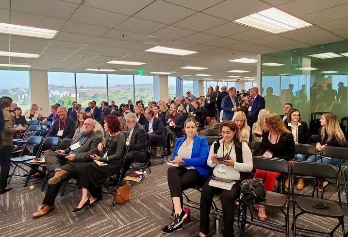 More than 250 people attended Bisnow's Culver City State of the Market event at 400/600 Culver Pointe in Culver City