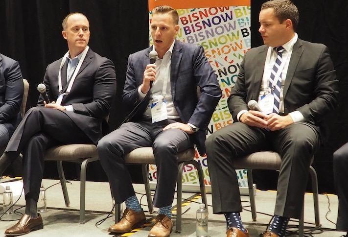 Harbor Group International's Matt Jones, TrueAmerica Multifamily's Matt Ferrari and Aion Partners' Sean Belfi