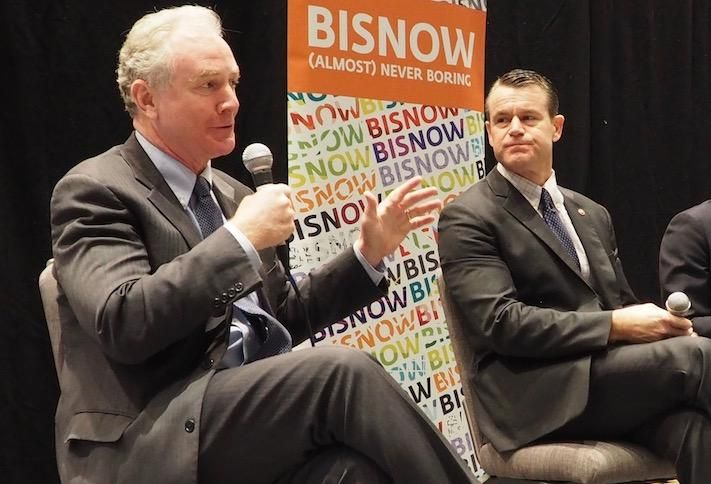 Sen. Chris Van Hollen and Sen. Todd Young
