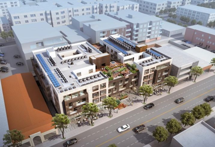 WS Communities' proposed 67,500 SF mixed-use development at 1430 Lincoln Blvd. in Santa Monica