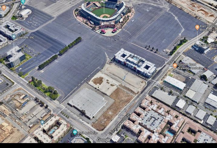 Anaheim Jianyong Investment and Camphor Properties plans a mixed-use development on 14-acres near Angel Stadium in Anaheim